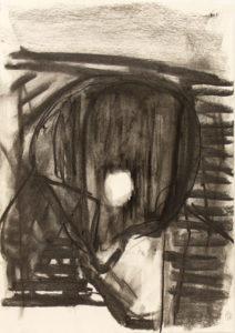 Dead Duck (2016) 42 x 29.5 cm Charcoal on Paper