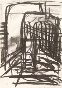 Stump (2016) 42 x 29.5 cm Charcoal on paper