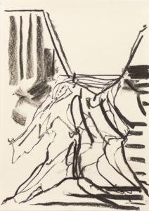 Ravine (2016) 42 x 29.5 cm Charcoal on paper
