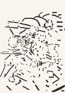Ohne Titel. (2015) 29,7 x 21 cm . Stift auf Papier Michael Markwick