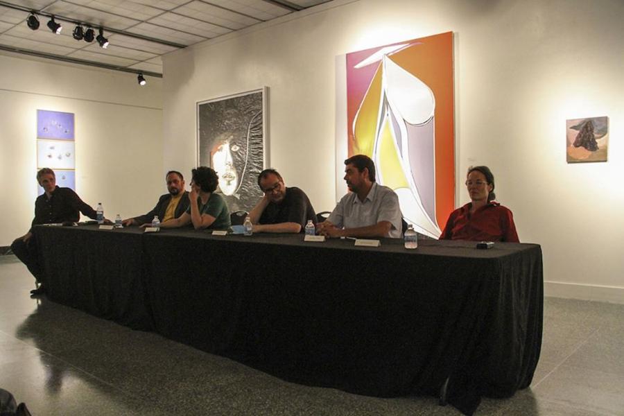 Mark Lammert, Michael Markwick , Adriana Molder, Jorge Queiroz, and Valérie Farvre