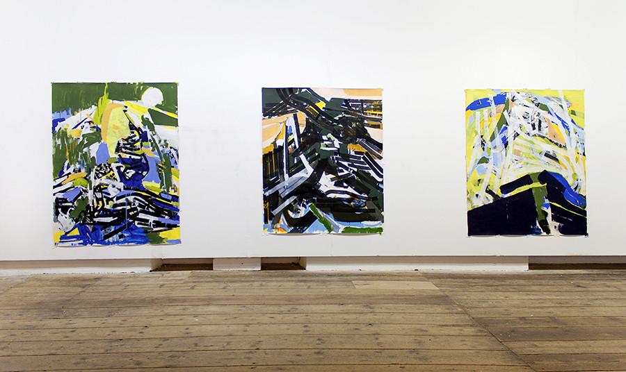 Exhibition View 2015 Kunstverein Steyr, Austria