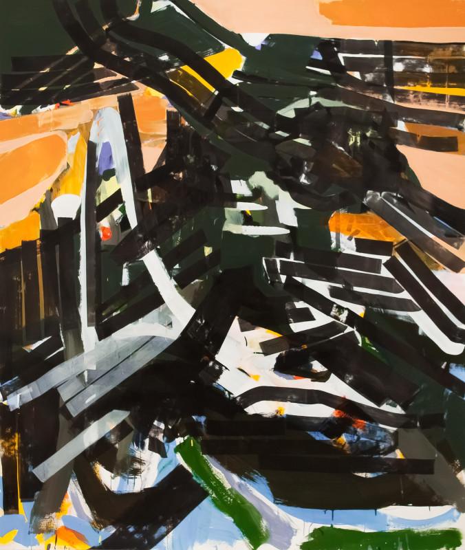 Shadow-Dweller-152-x-180-cm-Vinyl-Paint-on-Paper-2014