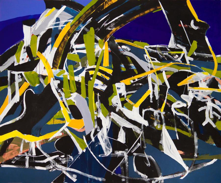 Ghost Trees (2014) 240 x 290 cm Michael Markwick