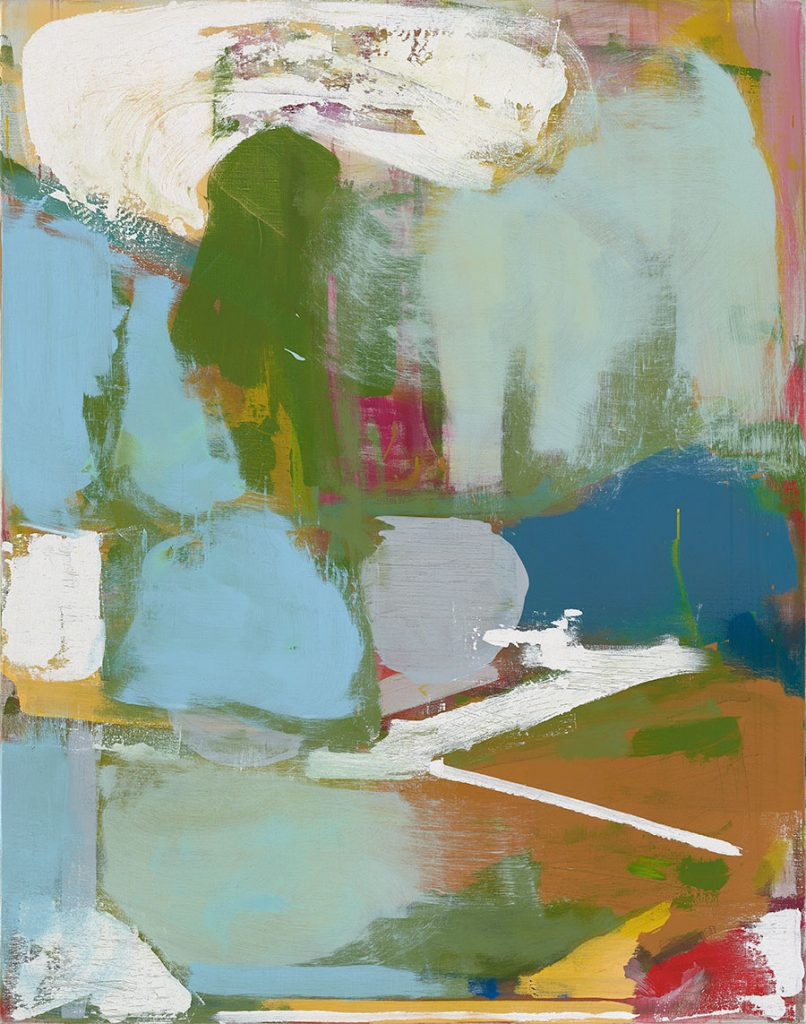 Quiet Dissonance (2017) 140 x 110 cm Acrylic on linen