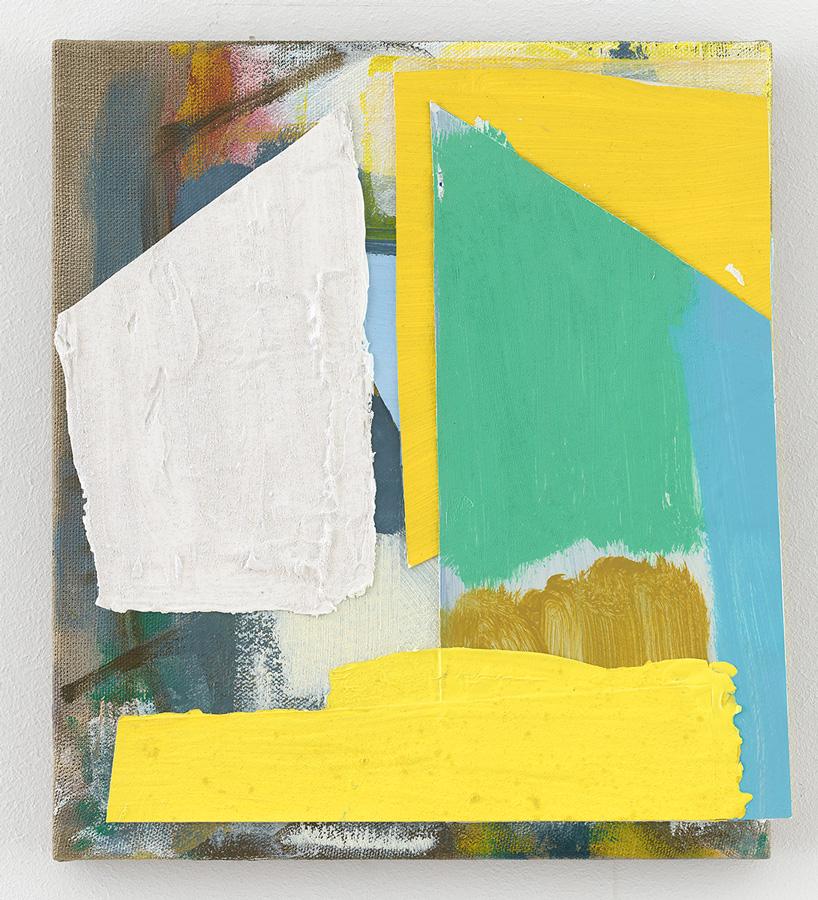 Spirit House (2019) Michael Markwick 40 x 36 cm (15.7 x 13.8 in.) Pigment, Binder und Mischtechnik auf Leinwand