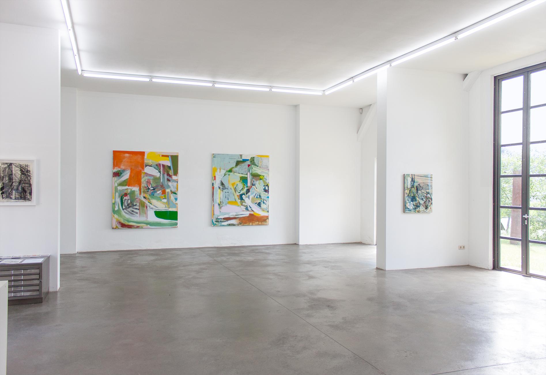 Current Exhibition: Michael Markwick: New Paintings 2017 Galerie Born: Projektraum Heiddorf