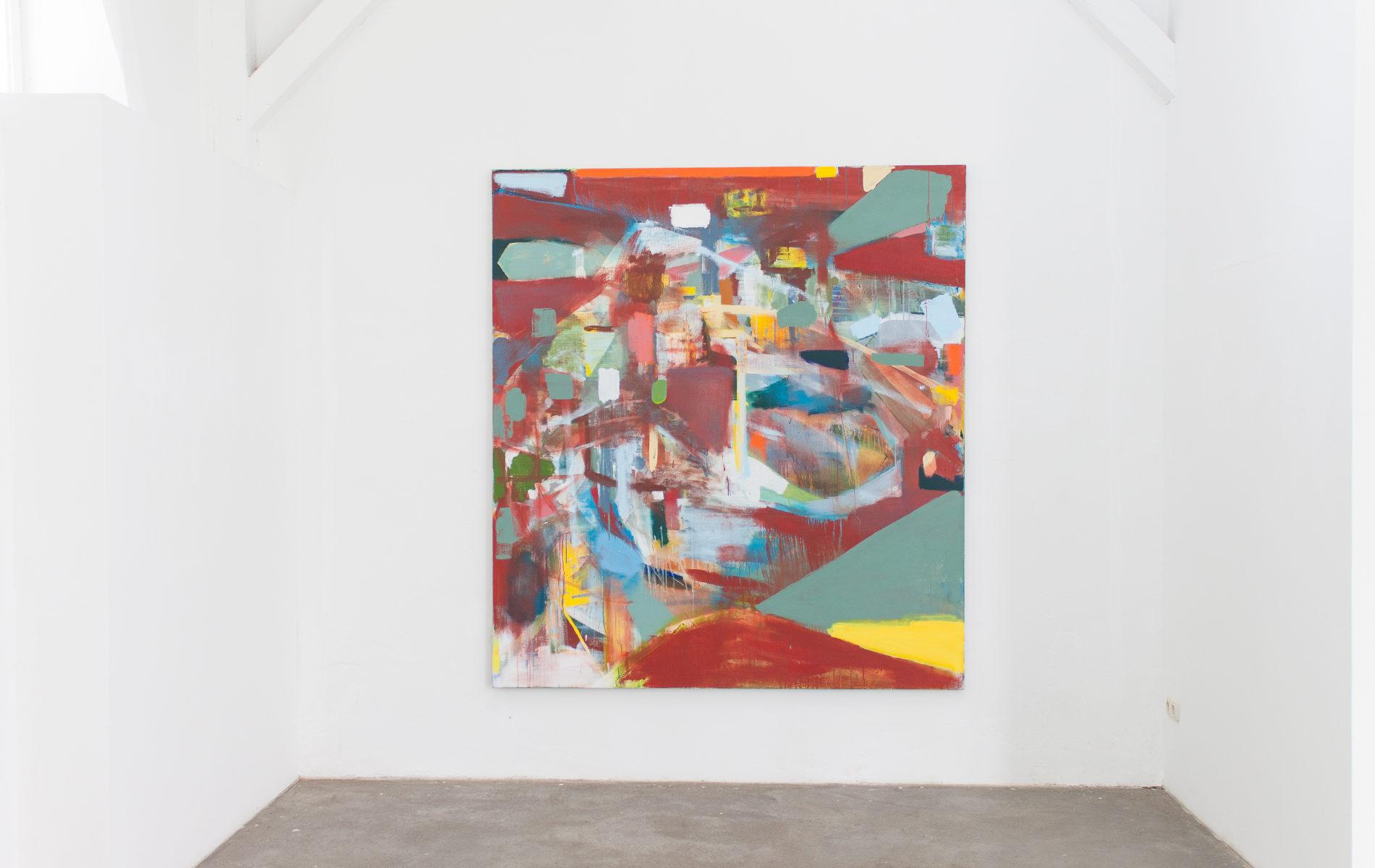Galerie Born, Berlin. Michael Markwick; New Paintings 2017. Projektraum heiddorf